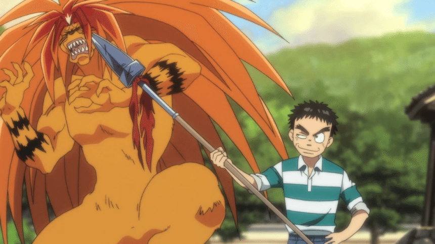 Anime Review Ushio And Tora The Geekly Grind