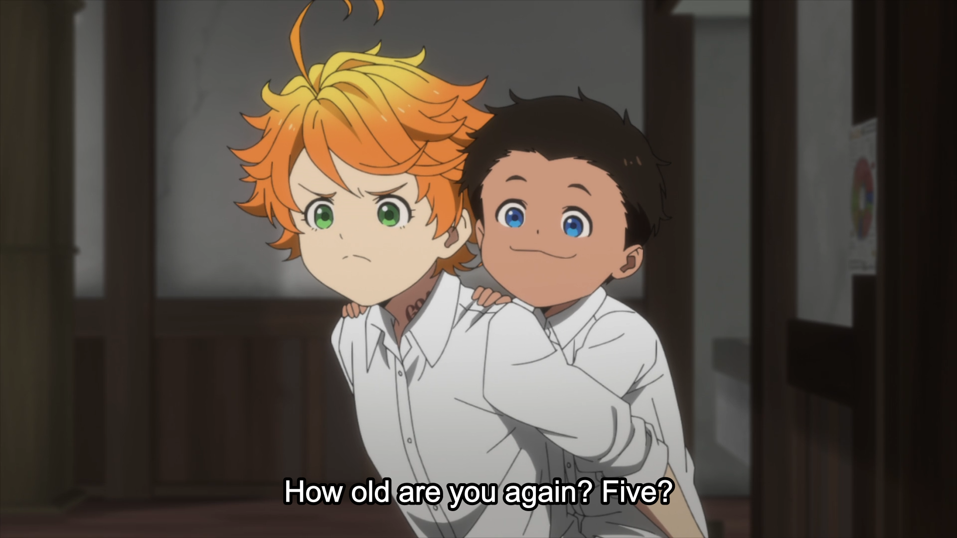 The Promised Neverland Episode 1 Review The Geekly Grind