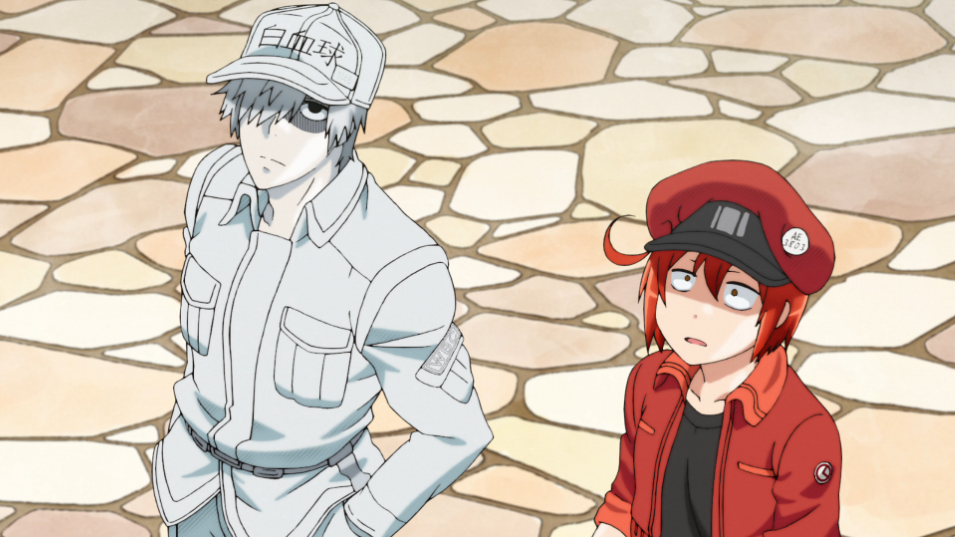 Cells At Work - Episode 1 (REVIEW) - The Geekly Grind